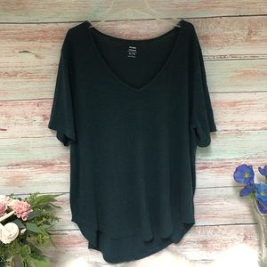Old Navy Relaxed Fit Short Sleeve Green T-Shirt